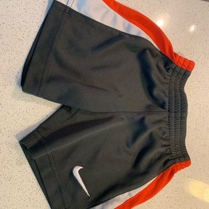 Red white and gray Nike boys elastic waist